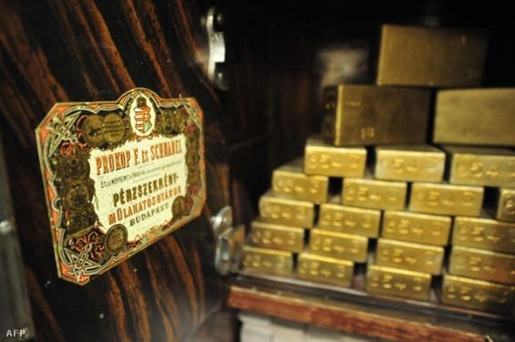 Pénzmúzeum az MNB-ben. Forrás: AFP, Conclude Zrt.