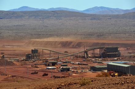 A Hancock Prospecting bányája Ausztráliában. Forrás: theconversation.edu.au, Conclude Zrt.