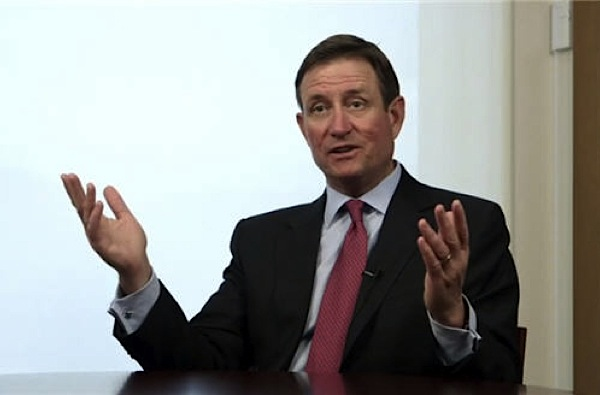 Chuck Jeannes, a Goldcorp vezérigazgatója. Forrás: Mining.com, Conclude Zrt.