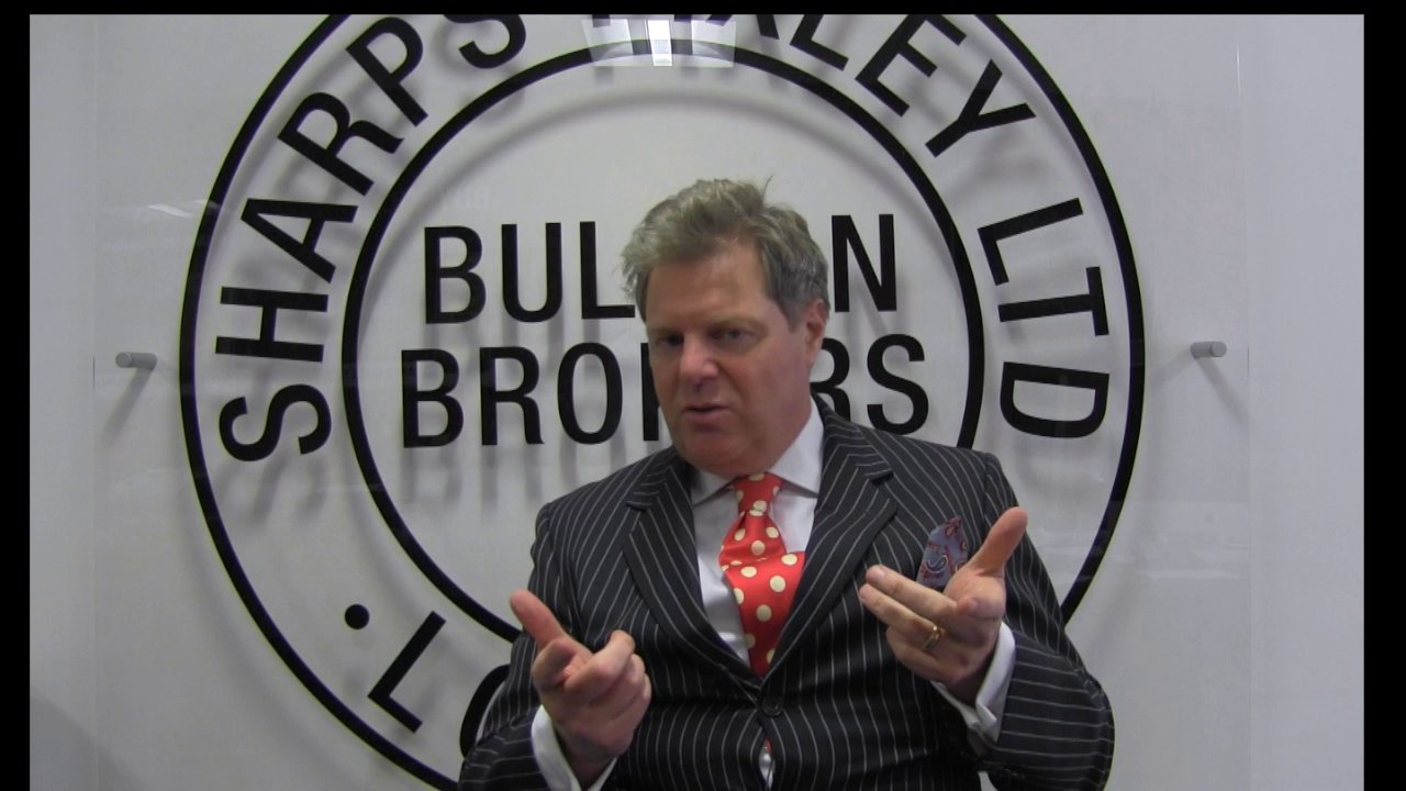 Ross Norman, a Sharps Pixley vezérigazgatója. Forrás: vimeo.com, Conclude Zrt.
