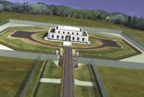 A Fort Knox-i aranyraktár. Forrás: John Atkinson's website, Conclude Zrt.