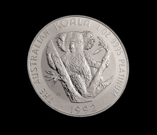 Australia Koala-platinaérme. Forrás: CMI Gold & Silver Inc., Conclude Zrt.
