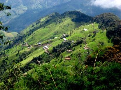 Potenciális aranylelő-hely Kolumbiában. Forrás: escapefromamerica.com. Conclude Zrt.