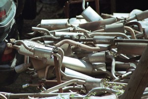 Ródiumból készült autókatalizátorok. Forrás: jm-gem.com, Conclude Zrt.