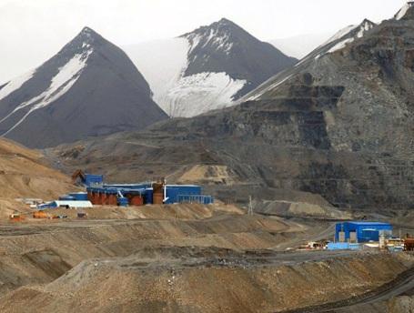 A Kumtor bánya Kirgizisztánban. Forrás: business.financialpost.com, Conclude Zrt.