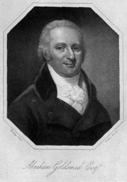 Abraham Goldsmid, 1756-1810; Forrás: wikipédia; Conclude Zrt.