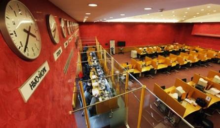 A moszkvai tőzsdén. Forrás: bullionstreet.com, Conclude Zrt.