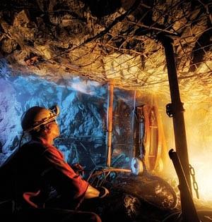 Palládium-bánya Dél-Afrikában. Forrás: Precious Metal News, Conclude Zrt.