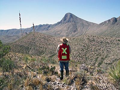 A Silver Bull mexikói bányászterülete. Forrás: resourceclips.com, Conclude Zrt.