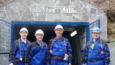 Rozsnyói bányászok.Forrás: Global Minerals, Conclude Zrt.