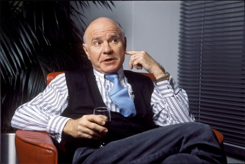 Marc Faber. Forrás: www.infiniteunknown.net, Conclude Zrt.