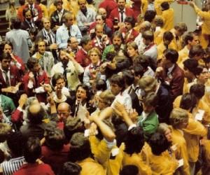 Tőzsdei kereskedés New York-ban. Forrás: Mining.com, Conclude Zrt.