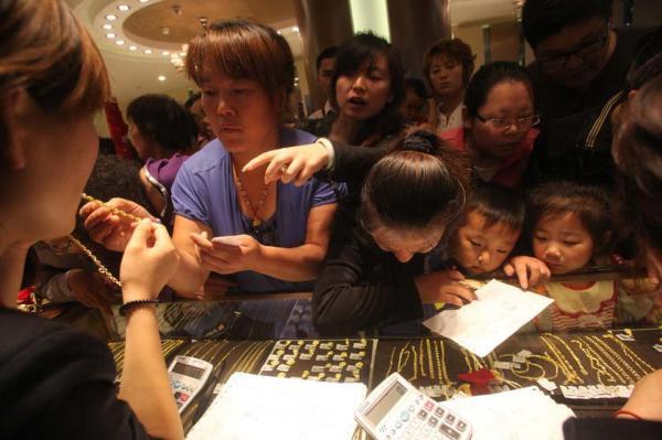 Kínai őrület az aranyért; Forrás: World Gold Council, Caixin, Conclude Zrt.