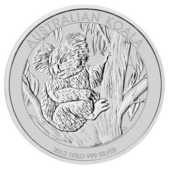 1kg-os Koala ezüstérme; Conclude Zrt.