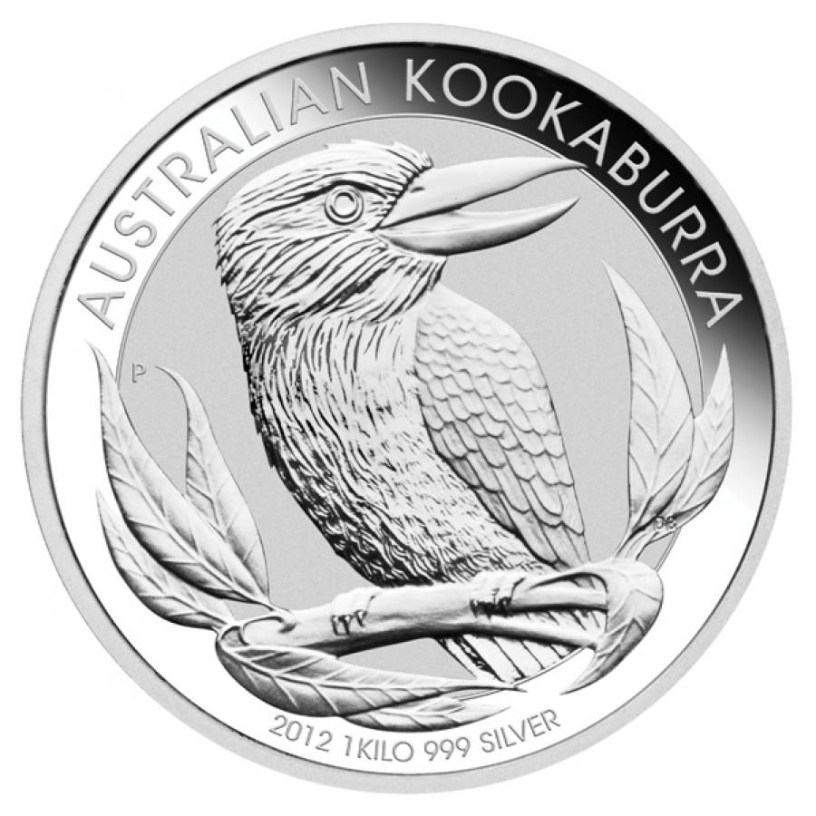 1kg-os Kookaburra ezüstérme; Conclude Zrt.