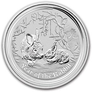 1kg-os Nyúl Éve 2011 ezüstérme; Conclude Zrt.