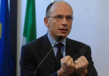 Enrico Letta olasz kormányfő. Forrás: www.zipnews.it, Conclude Zrt.