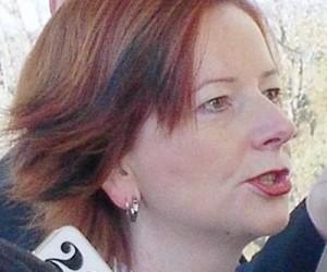 Julia Gillard ausztrál kormányfő. Forrás: mining.com, Conclude Zrt.