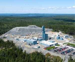 Aranybánya Quebec észak-nyugati részén. Forrás: mining.com, Conclude Zrt.