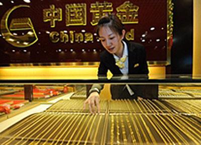 Aranybolt Kínában. Forrás: www.bullionstreet.com, Conclude Zrt.