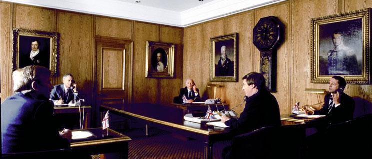 Telefonos konferenciabeszélgetés a Deutsche Bankban az ezüstár napi rögzítéséről. Forrás: www.zerohedge.com, Conclude Zrt.