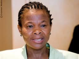 Susan Shabangu dél-afrikai bányaipari miniszter. Forrás: www.polity.org.za, Conclude Zrt.