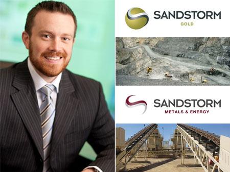 Nolan Watson, a Sandstorm elnök-vezérigazgatója. Forrás: startup30.com, Conclude Zrt.
