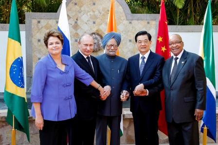 A BRICS-országok vezetői. Forrás: commons.wikimedia.org, Conclude Zrt.