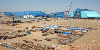 Az Oyu Tolgoi bánya Mongóliában. Forrás: ubpost. mongolnews.com, Conclude Zrt.