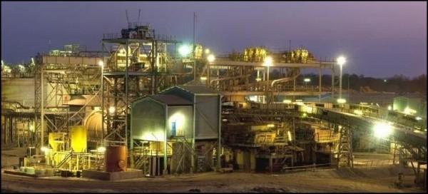 A Gold Fields ghánai aranybányája. Forrás: buzztrick.com, Conclude Zrt.