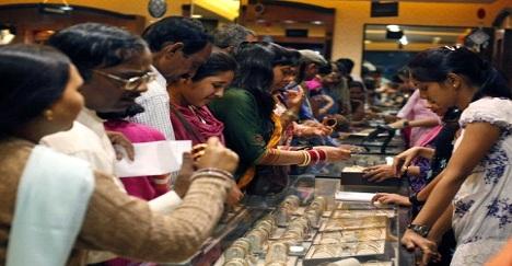 8 százalékos aranyfelár Indiában!;Forrás: Business Standard, Conclude Zrt.