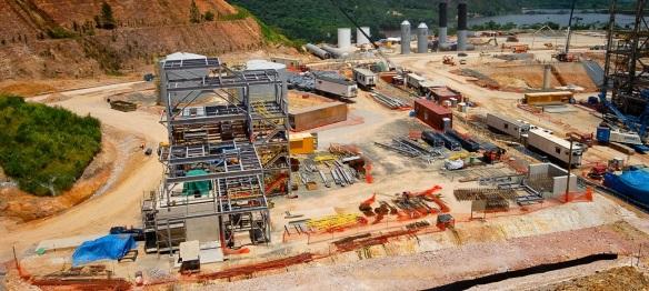 A Pueblo Viejo aranykitermelése. Forrás: jornadadiaria.com; Conclude Zrt.