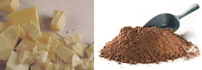 A kakaóbabból készülő két termék, a kakaóvaj és a kakaópor közül az előbbi a csokoládé lényeges alapanyaga, míg a kakaópor adja a nem-fehér csokoládék különleges ízét. Jelen cikkünkben a kakaóbab feldolgozását tekintjük át.; Forrás: Hardman & Co., Conclude Zrt.