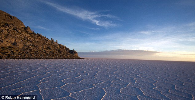 A bolíviai Salar de Uyuni sósivataga. Forrás: Robin Hammond, Conclude Zrt.