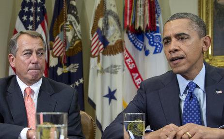 John Boehner és Barack Obama. Forrás: www.npr.org, Conclude Zrt.