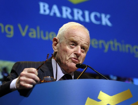 Peter Munk. Forrás: business.financialpost.com, Conclude Zrt.