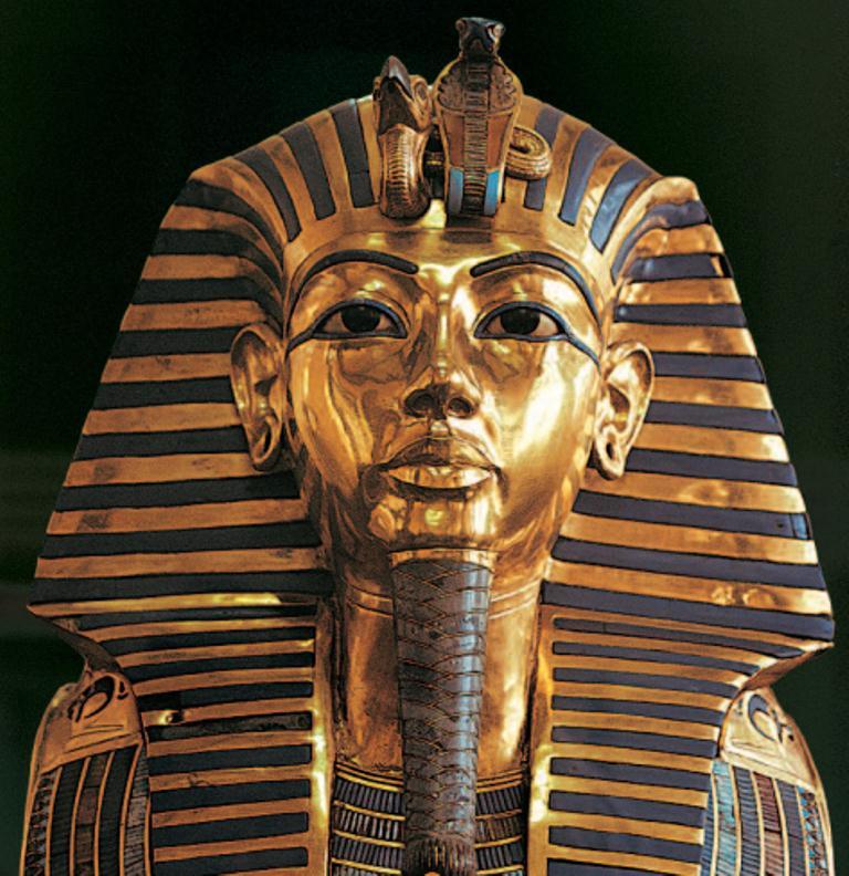 Tutanhamon halotti maszkja Forrás: FED, Conclude Zrt.